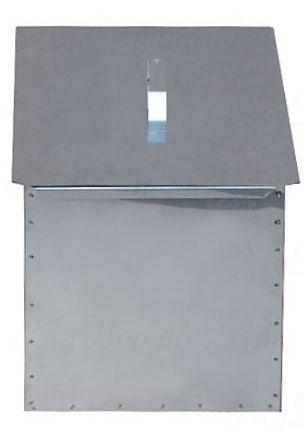 Коптильня двухъярусная с поддоном 480х280х270 ст.1,0