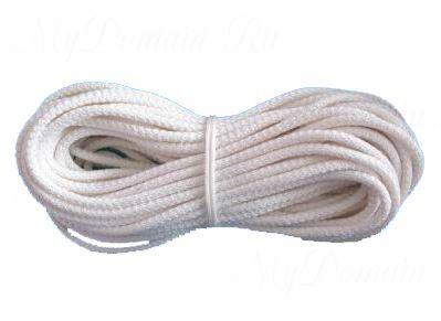 Шнур хозяйственный вязаный 6 мм (25 м)