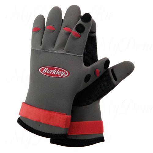 Перчатки Неопреновые Berkley Banfg Neoprene Fish Glove