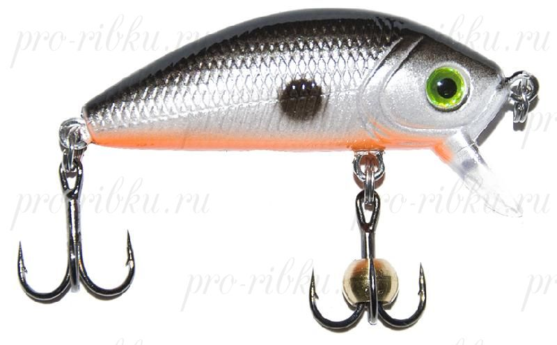"Воблер PROFILUX ""Real Minnow 44"", S, 44мм, 3,8гр, 0,4-1,8 м, № 1"