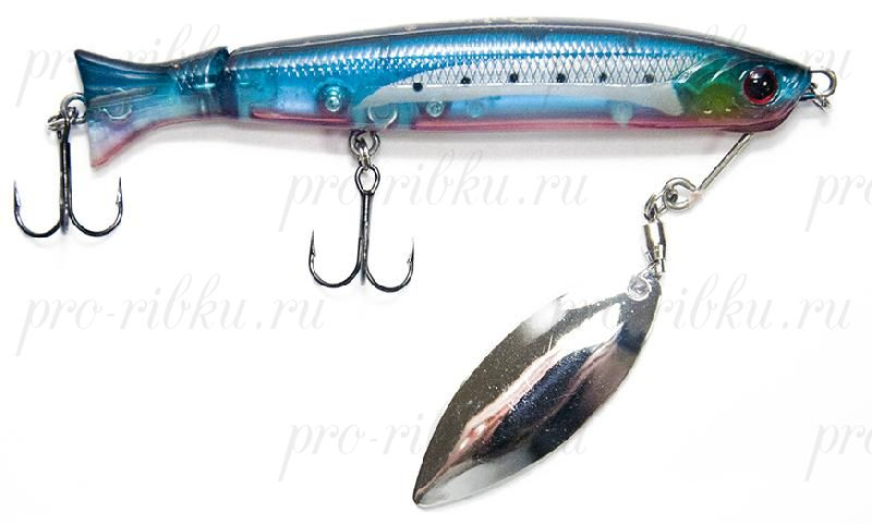 Воблер RUBICON ROVER MINNOW S, 90mm, 10gr, F1194