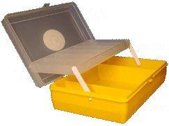 Коробка Тривол ТИП-4, 235 х 150 х 65 мм, двухъярусная с микролифтом