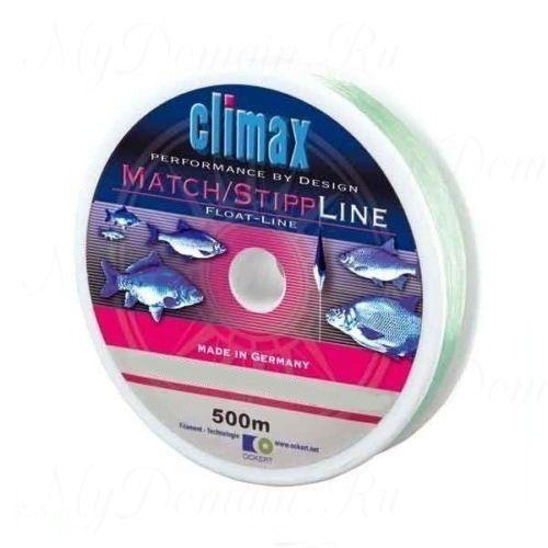Леска Сlimax Match-Stip Line Mono (светло-зеленая) 100м 0,14мм 1,9кг