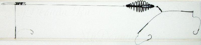 Донная оснастка, спираль, 15г, кр. №8