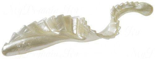 Твистер с гребешком MISTER TWISTER G-Grub 7 см уп. 20 шт. 1P (белый жемчуг)