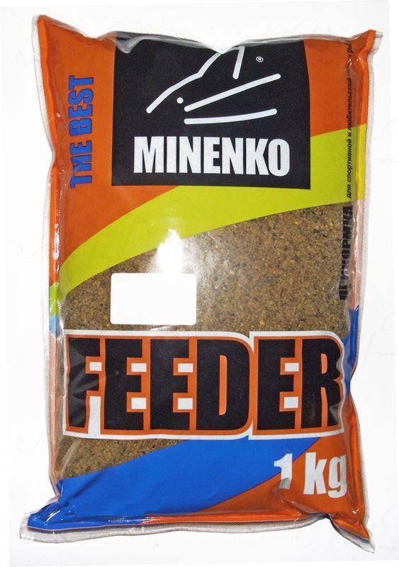 Прикормка МИНЕНКО Feeder Плотва, вес 1 кг