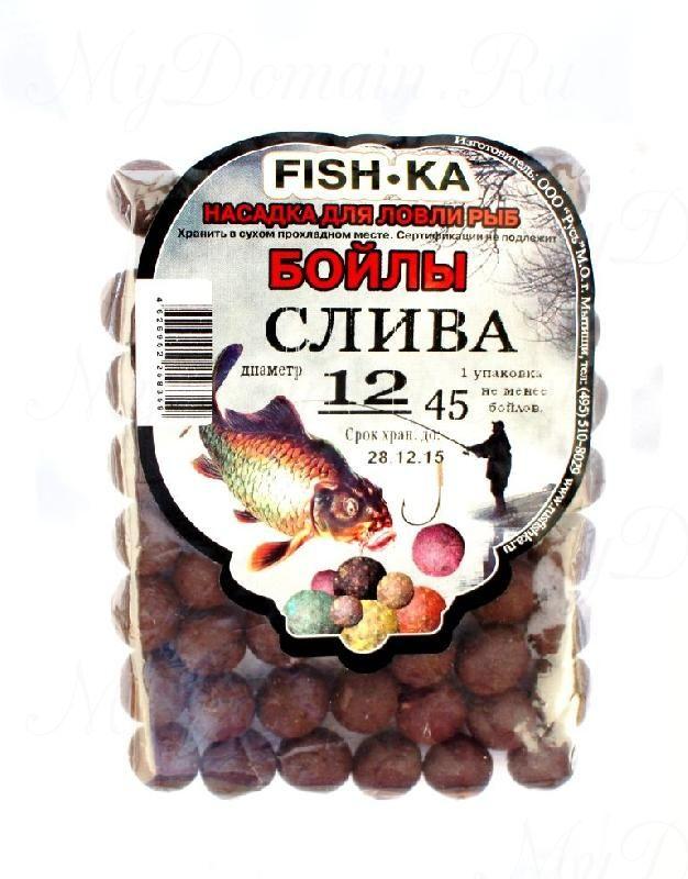 Бойлы FISH.KA (слива) диаметр 18 мм