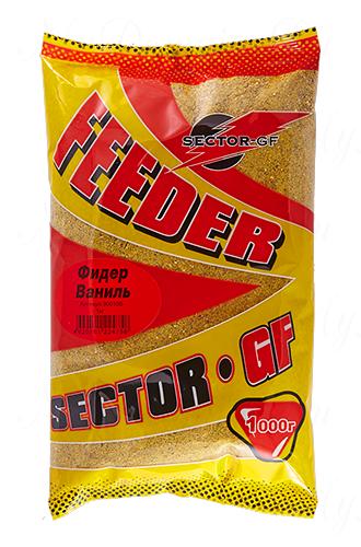 Прикормка GREENFISHING SECTOR-GF Feeder Ваниль, вес 1 кг