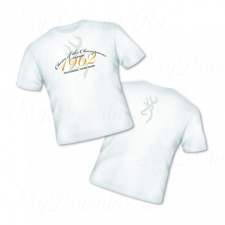 Футболка Browning Т-Shirt Classic белая размер XXL